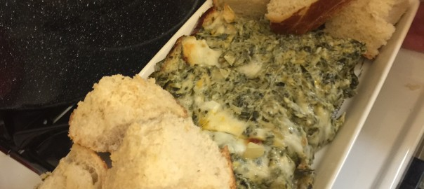 People Make the Party and So Does Spinach!