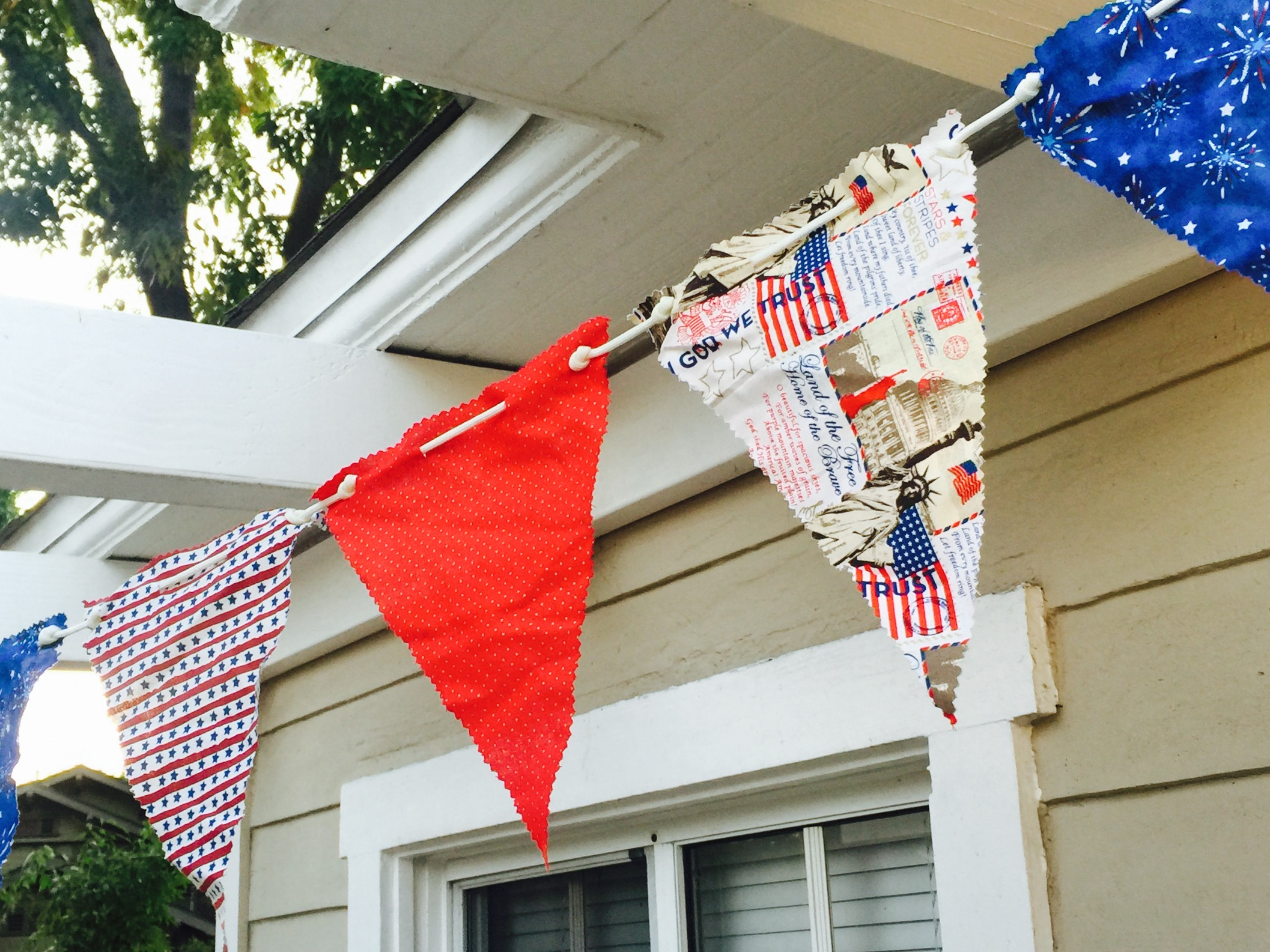 July 4th flags